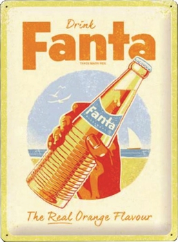 Fanta the real orange flavour special edition relief