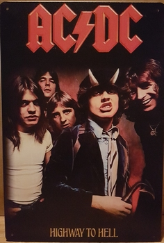 ACDC Highway to hell metaal