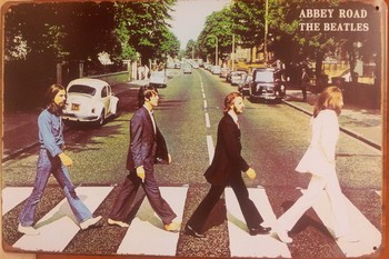 Beatles abbey road metaal